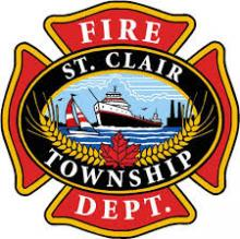 logo of the St. Clair Township fire department